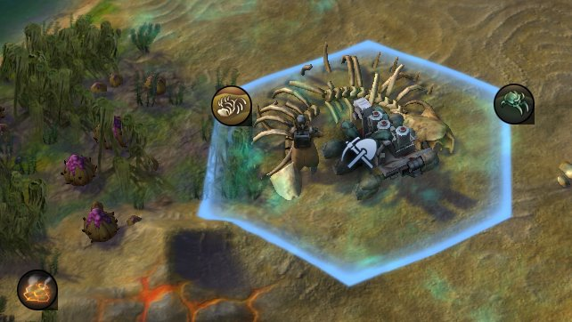 Alien Skelett Artefakt - Civilization Beyond Earth