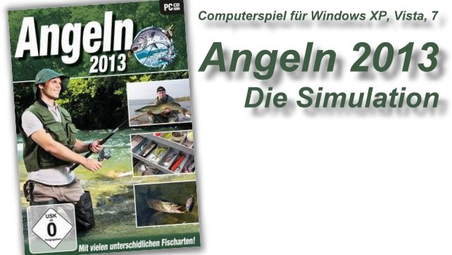 Angeln 2013 - Die Simulation für Windows