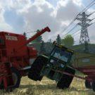 Kräftemessen zwischen Büher 6135 und Fahr M66 (Screenshot: Landwirtschafts-Simulator 2013)