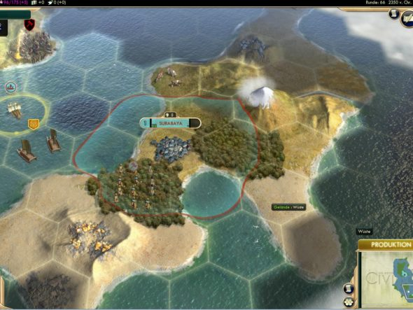 Civ5 - Surabaya 2350 v.Chr. gegründet