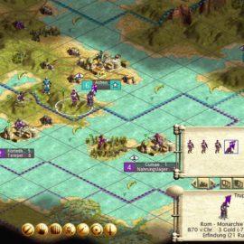Civ3 – Römischer Truppenverband in Griechenland