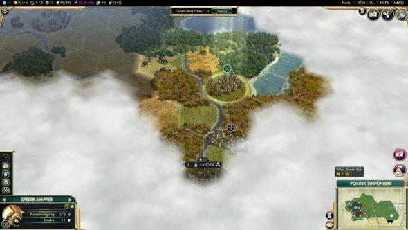 Civ5 - Stadtstaat Cahokia entdeckt