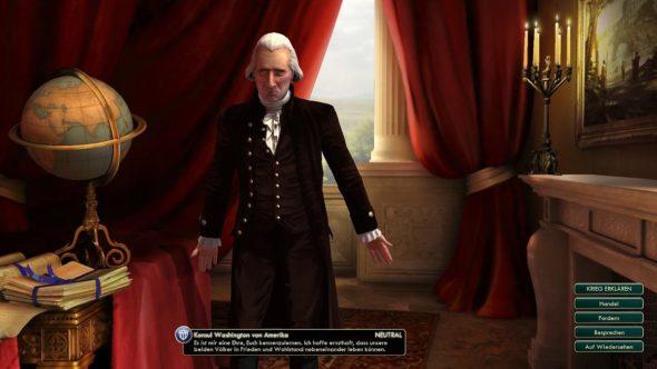 Civilization 5 - George Washington Vereinigte Staaten