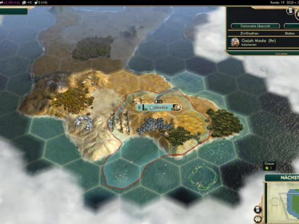 Civ5 – Indonesien 3525 v.Chr. – Hauptstadt Jakarta