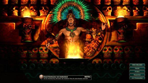 Civ5 - Montezuma, Anführer der Azteken
