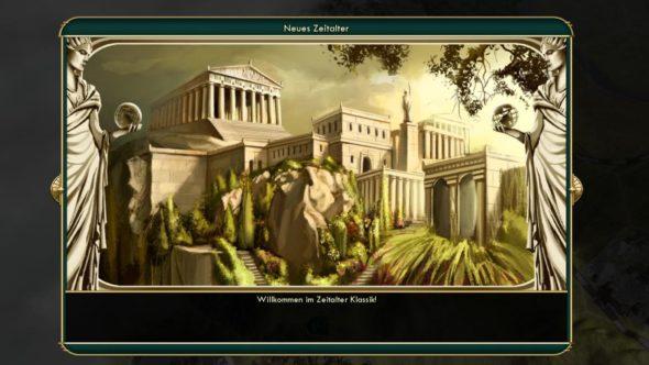 Civilization 5 - Das Zeitalter der Klassik beginnt