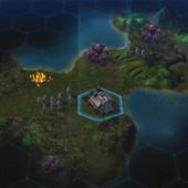 Screenshot aus Civilization Beyond Earth – Siedler-Einheit