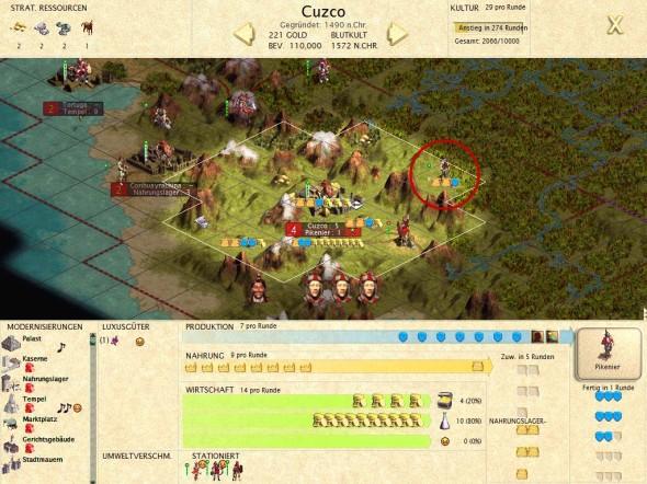 Die Inka-hauptstadt Cuzco kann endlich wachsen