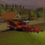 Kartoffelvollernter Grimme Tectron 514 (Screenshot: Landwirtschafts-Simulator 2013)