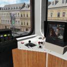 Schwebebahn Wuppertal Fahrgastmonitor (Schwebebahn-Simulator 2013)