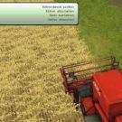 Tastenbefehle beim Mähdrescher Fahr M66 (Screenshot: Landwirtschafts-Simulator 2013)