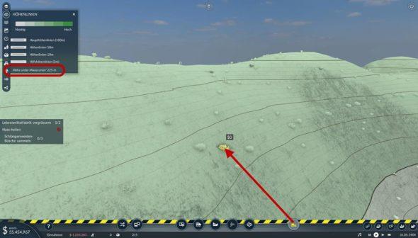 Schlangenweiden-Büsche sammeln - Bagdadbahn Mission (Screenshot: Transport Fever 2)