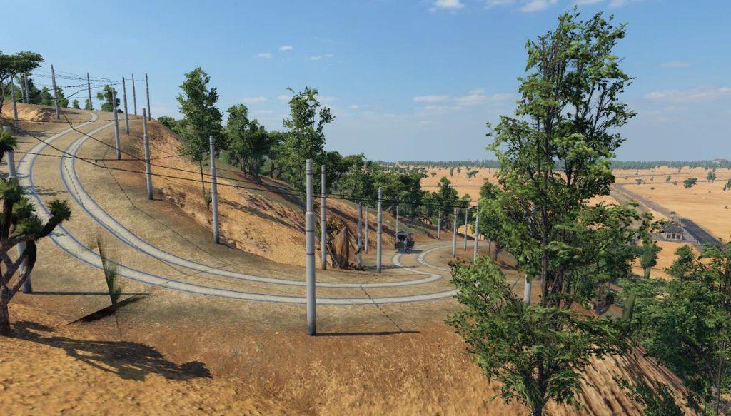Romantischer Aussichtspunkt von Topolobampo (screenshot: Transport Fever 2)