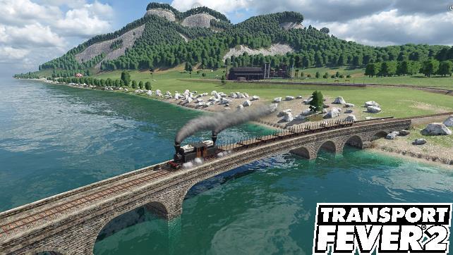 Transib Mission in Transport Fever 2