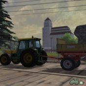 Unterwegs mit dem Traktor Bührer 6135