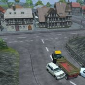 Kaum Verkehr und doch wird es an der Kreuzung eng